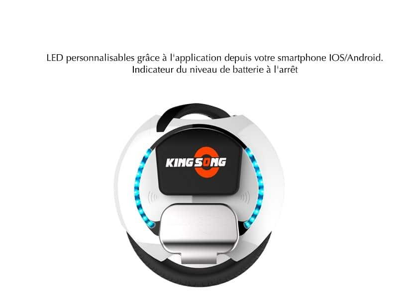 Gyroroue Kingsong KS-16B_, roue électrique, Kingsong, Gyroroue, Mobilité électrique, Glisse urbaine