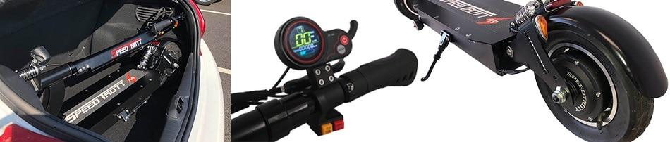 Trottinette électrique Speedtrott RS 1600 +