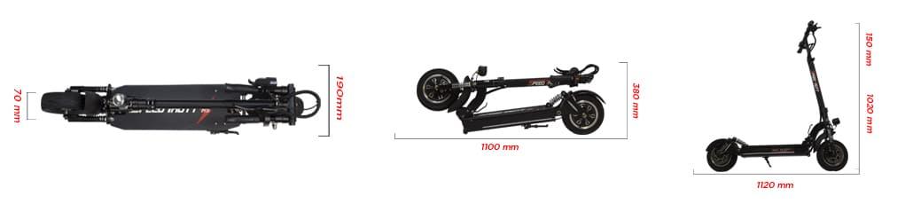 Trottinette électrique Speedtrott RS 1600