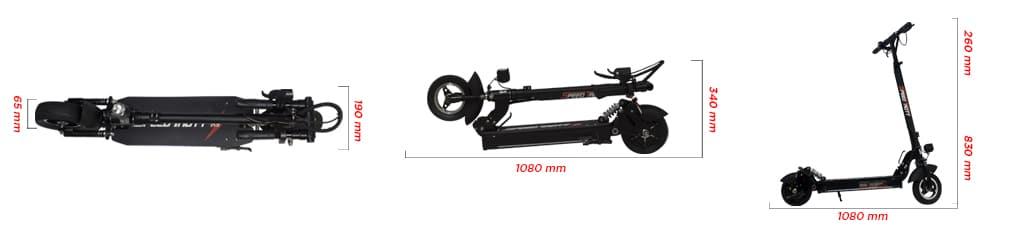 Trottinette électrique Speedtrott RS 400, Mobilité électrique, Speedtrott, RS 400