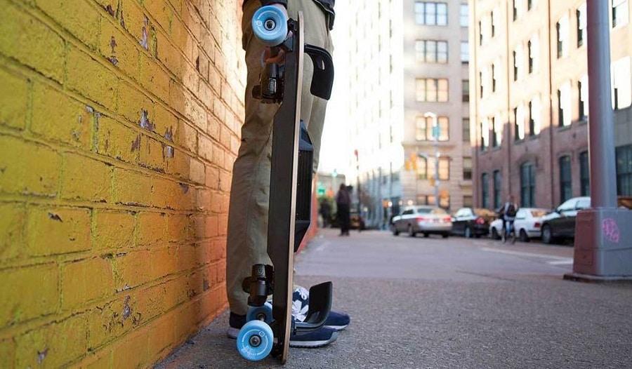 Skateboard électrique Leifboard, LeifTech