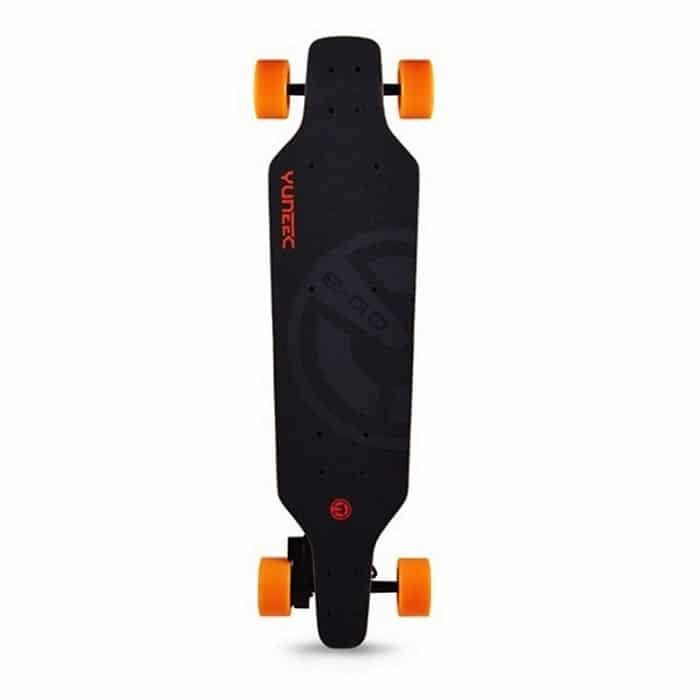 Skateboard électrique Yuneec E-GO 1, Yuneec, Longboard électrique