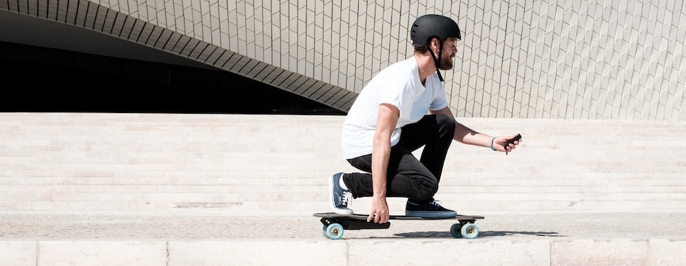 Skateboard électrique, Longboard électrique, Elwing, Inboard M1, Evo cross