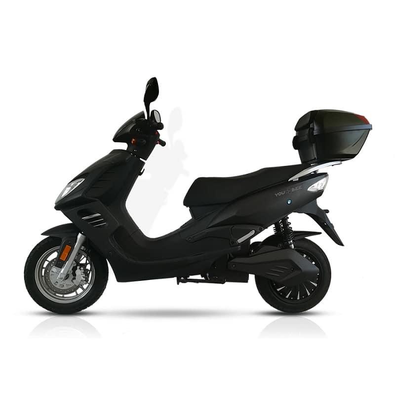 Scooter électrique RSX-80, Scooter électrique 3 roues, Scooter électrique puissant, scooter électrique léger, Scooter électrique équivalent 125cc