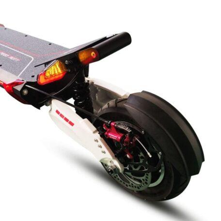 Vue arrière trottinette électrique Speedtrott RX 1000