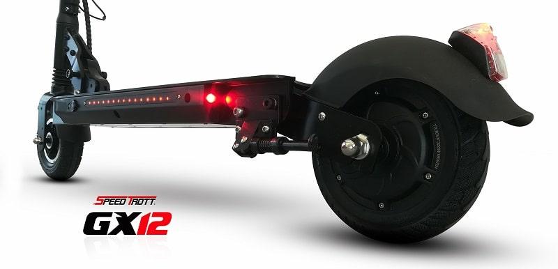 Trottinette électrique GX-12 de cote