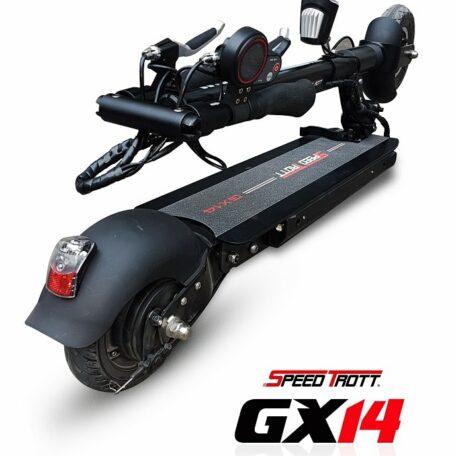 Trottinette électrique Speedtrott-GX-14 pliée