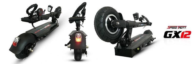 Trottinette électrique Speedtrott GX-12, Speedtrott, Trottinette électrique 25 km/h, Trottinette électrique bridée à 25 km/h, Trottinette électrique légère, Trottinette électrique adulte, Trottinette électrique puissante, Assurance trottinette électrique