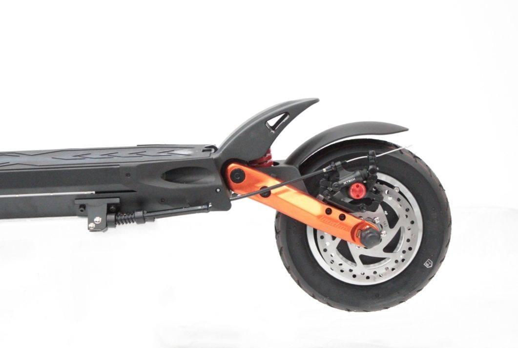 Trottinette électrique Kaabo Mantis orange, Trottinette électrique adulte, Trottinette électrique légère, Trottinette électrique puissante, Trottinette électrique étanche, Trottinette électrique bridée à 25 km/h