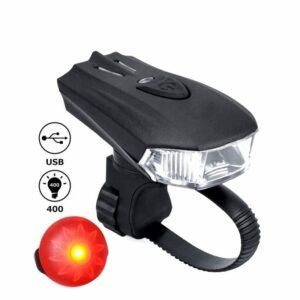 Lampe avant pour trottinette électrique