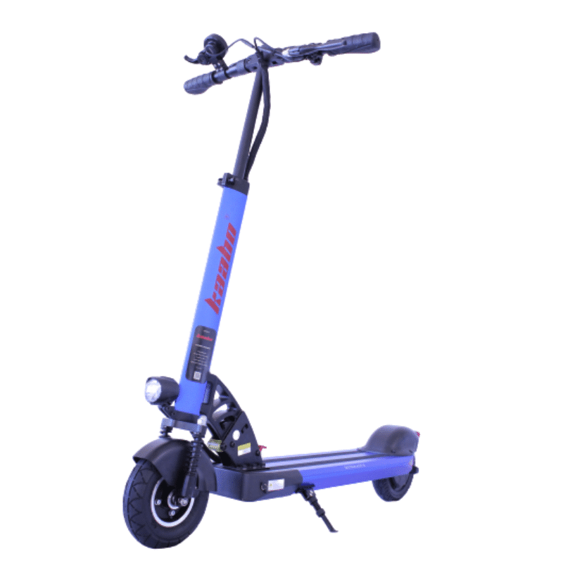 Trottinette électrique kaabo-skywalker-8 bleu de face